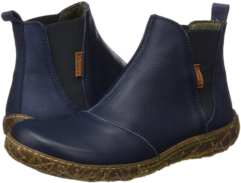 El Nido Naturalista Damen N786 Soft Grain-Pleasant Nido El Chelsea Stiefel, Blau (Ocean) 95d4a7