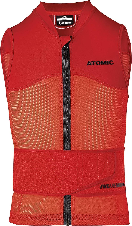 Gilet di Protezione da Sci per Bambini Rosso Atomic Live Shield Vest JR