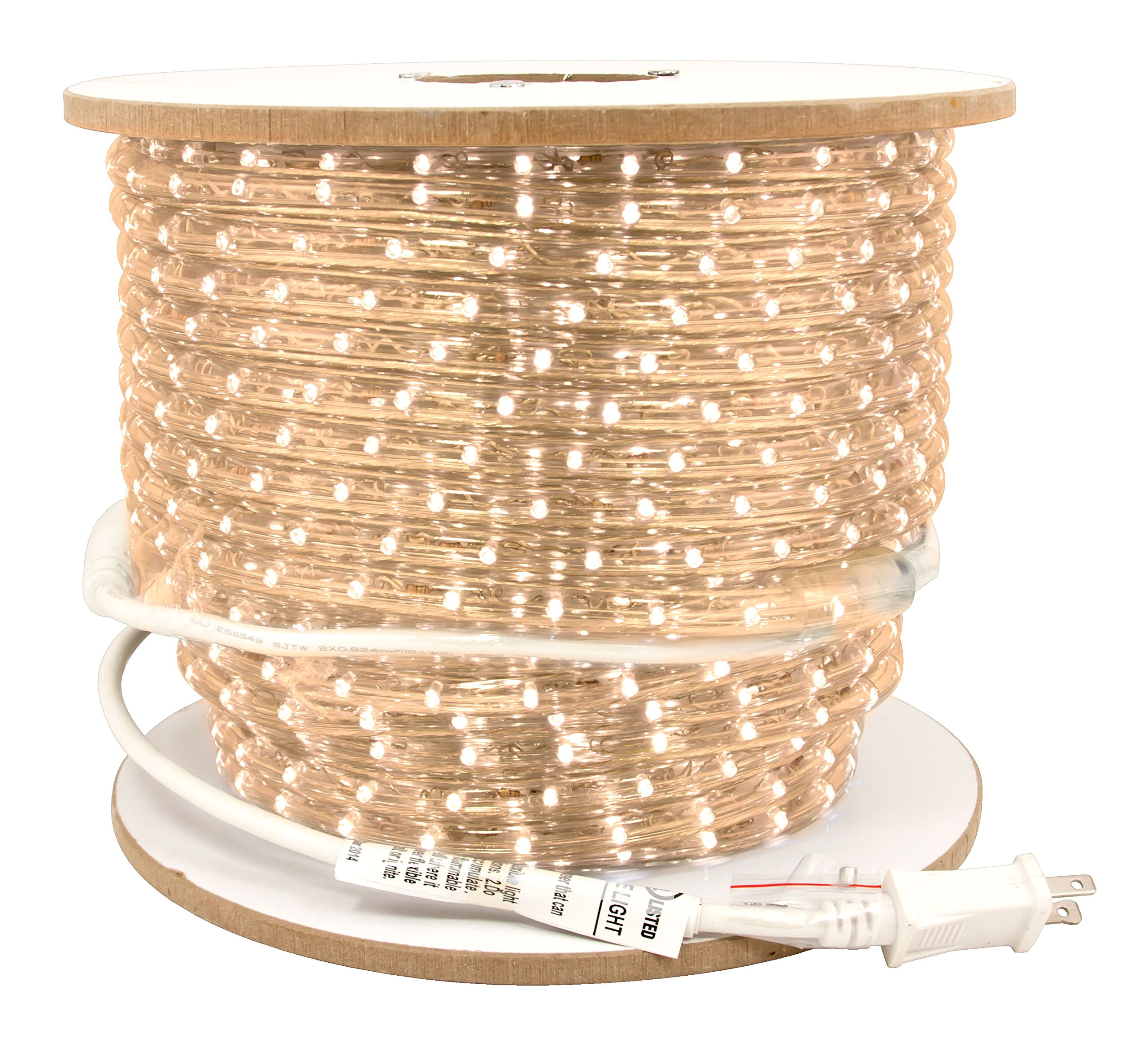 American Lighting LED Flexbrite 3/8-Inch Rope Light Reel, 150-Feet, 3000K Warm White