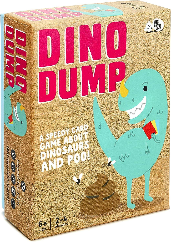 Dino Dump: The Dinosaur Poop Game for Kids