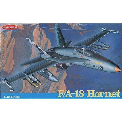 Kangnam 1:48 F-18 Hornet [Model Building KIT]: Toys & Games