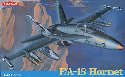 Amazon.com: 1: 48 kangnam F-18 Hornet [Modelo Kit de ...