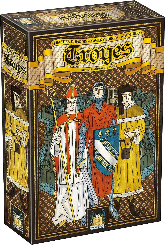 Asmodee Troyes Strategy Game ASMODEE EDITIONS PGTROY01ML1