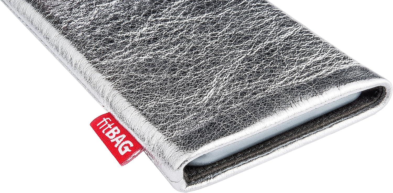 fitBAG Beat Schwarz Handytasche Tasche aus Echtleder Nappa mit Microfaserinnenfutter f/ür Samsung Galaxy S20 Ultra 5G H/ülle mit Reinigungsfunktion Made in Germany