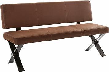 Standard Furniture Sitzbank Woody Solobank mit oder ohne Rückenlehne  moderne massive Bank mit Polstersitz für Esszimmer und Küche Größe und  Ausführung ...