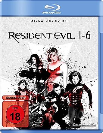 Resident Evil 1-6 [Alemania] [Blu-ray]: Amazon.es: Jovovich, Milla, Rodriguez, Michelle, Mabius, Eric, Purefoy, James, Salmon, Colin, Anderson, Paul W.S., Jovovich, Milla, Rodriguez, Michelle: Cine y Series TV