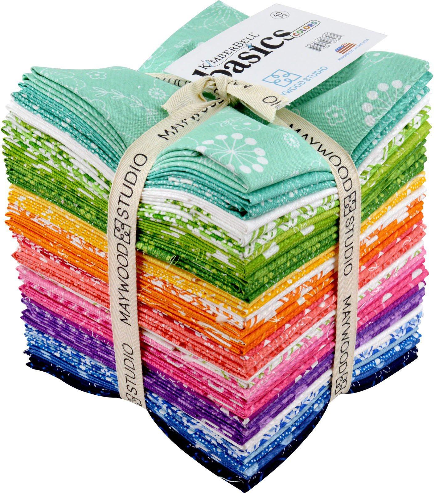 KimberBell Basics Colors 40 Fat Quarters Maywood Studio by Maywood Studio (Image #1)