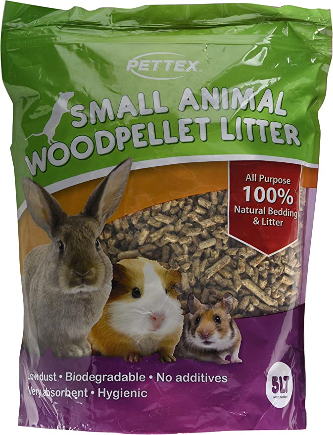 Pettex Small Animal Wood Pellet Bedding And Litter 5 Litre Amazon Co Uk Pet Supplies
