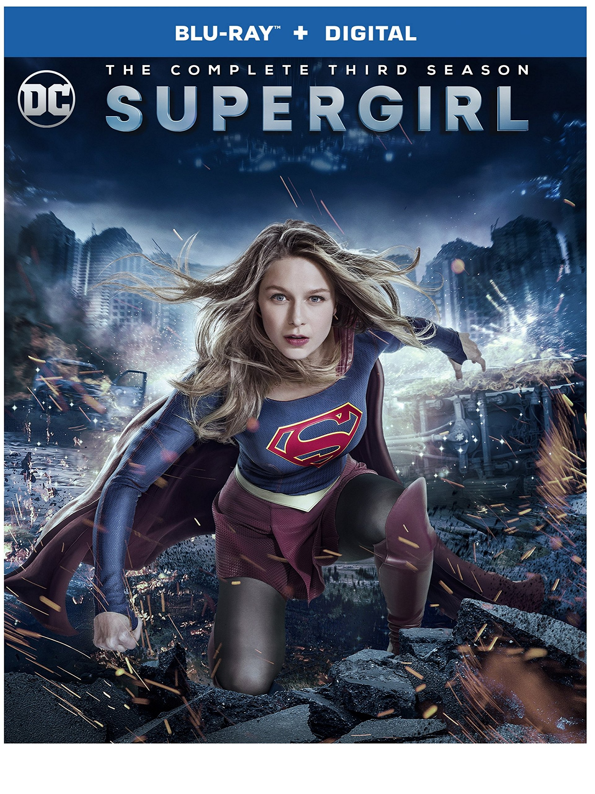 Blu-ray : Supergirl: The Complete Third Season (dc) (Boxed Set, Digital Copy, 4PC)
