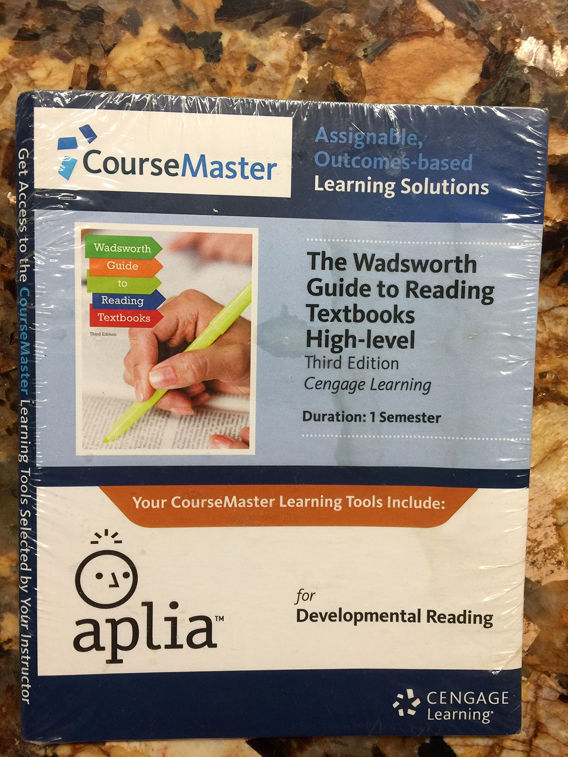 Download Wadsworth Guide to Reading Textbooks High-level - CourseMaster Access Code pdf