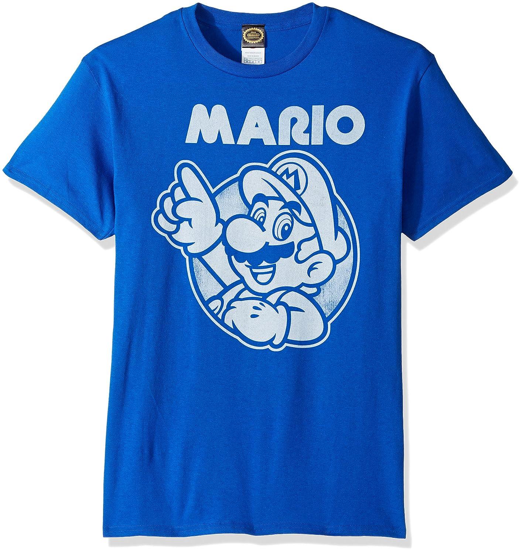 69e1618a Amazon.com: Nintendo Men's So Mario T-Shirt: Clothing