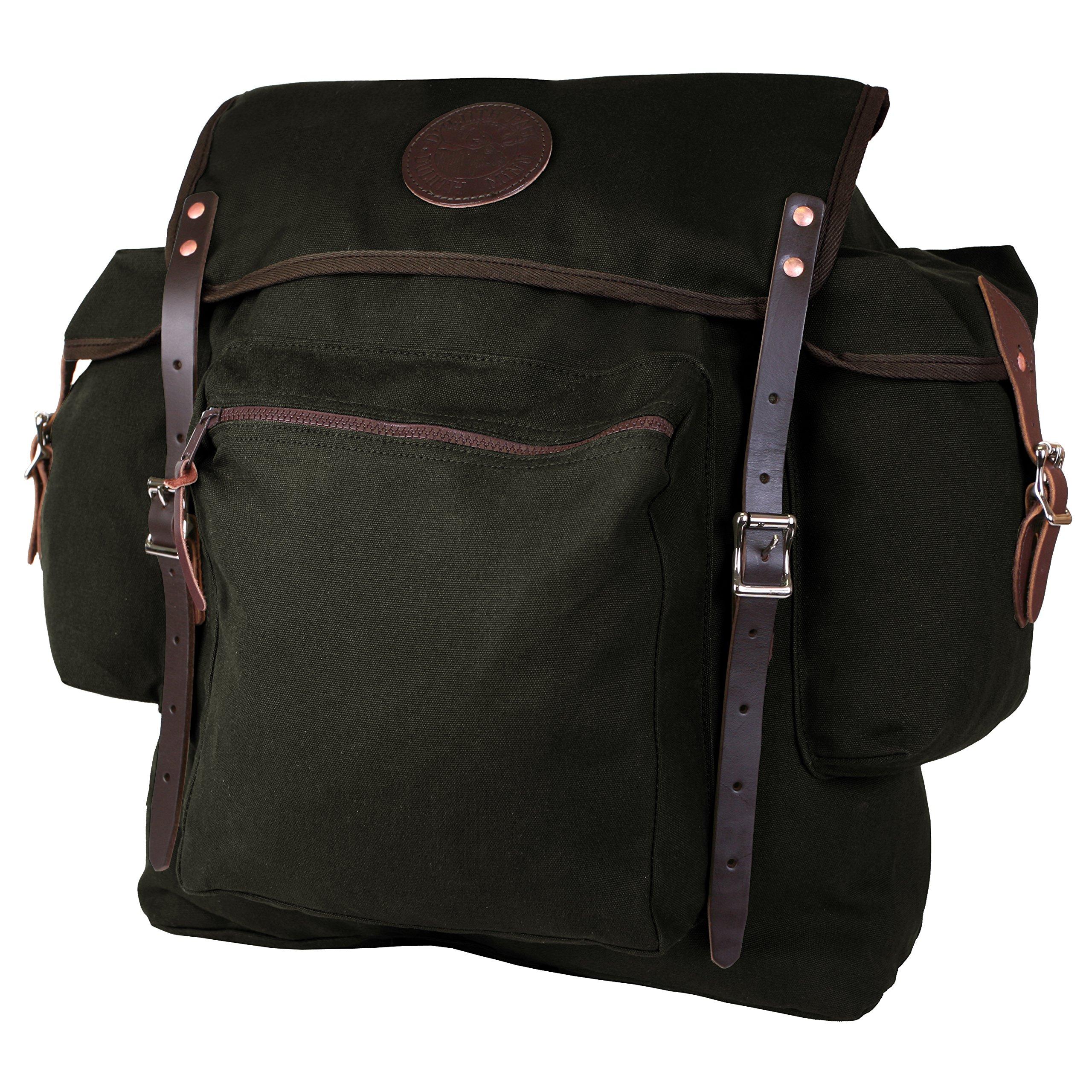 Duluth Pack Rambler Pack, Black, 19 x 17 x 6-Inch