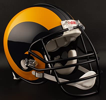 Image Unavailable. Image not available for. Color  Riddell Los Angeles RAMS  ... 0e15a481c