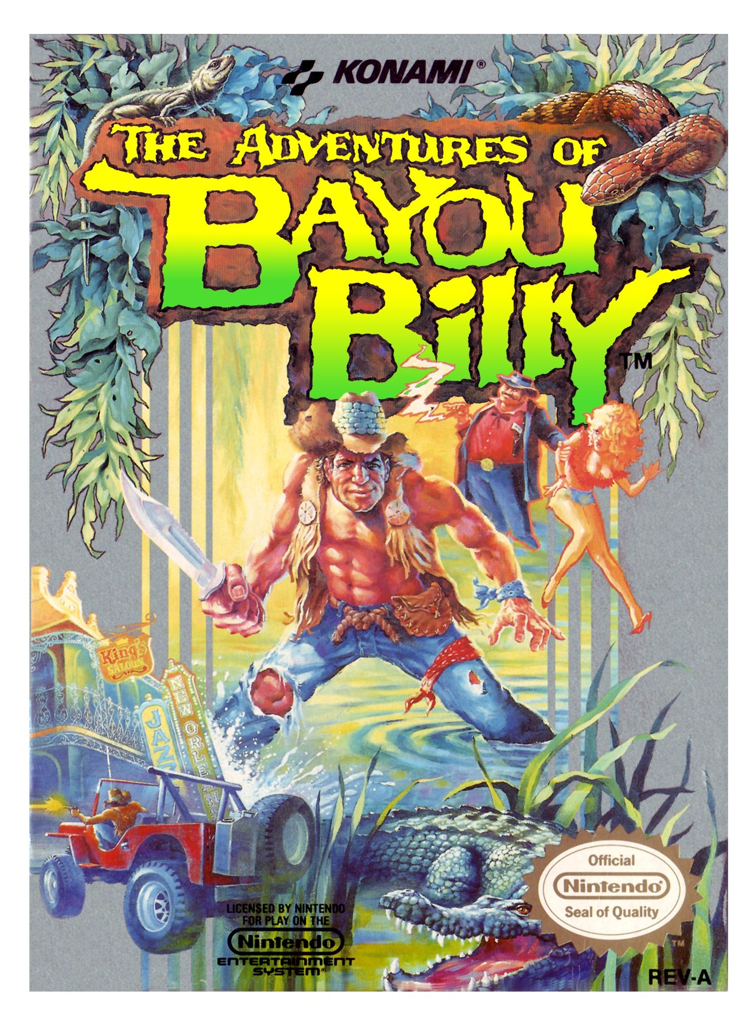 Amazon.com: The Adventures of Bayou Billy: Video Games