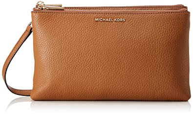 9256fdcd4b70 Amazon.com  Michael Kors Adele Ladies Large Acorn Leather Crossbody ...