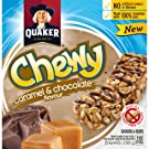 Quaker Chewy Caramel & Chocolate, 12 Count