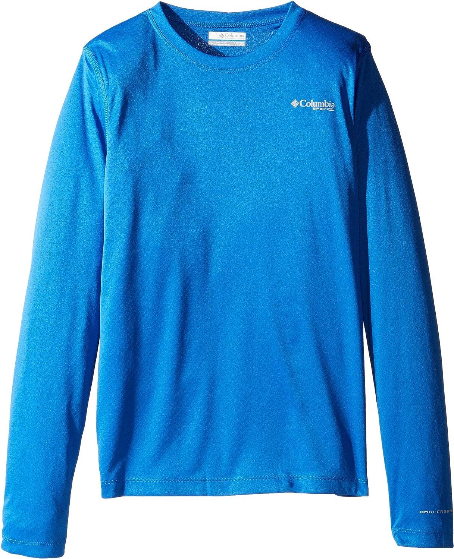 3b06492b599 Amazon.com: Columbia Kids Mens PFG Zero Rules Long Sleeve Shirt (Little  Kids/Big Kids): Clothing