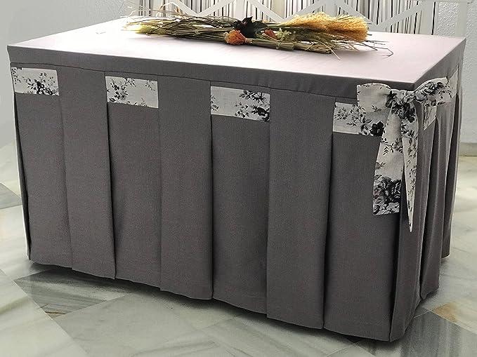 INUSUAL Falda o Ropa de Camilla Decorativa (Fucsia, 120X70X72 ...