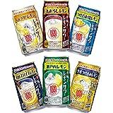 第1弾 宝 極上レモンサワー 6種 飲み比べセット[350ml缶×12本/各種2本ずつ]