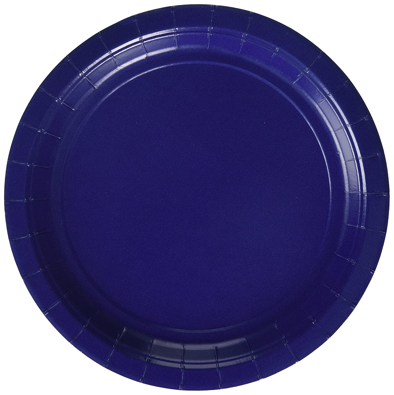 55015.74 Party Supply TradeMart Inc 9 96 ct Navy Blue Paper Plates