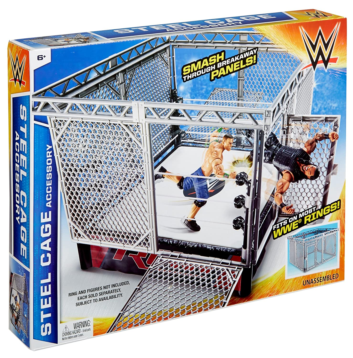 Amazon WWE Steel Cage Accessory Toys & Games