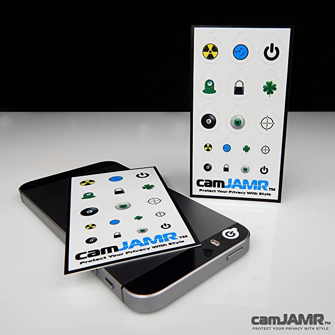 Webcam Cover//Stickers for Online Privacy Fits Laptop Xbox and More camJAMR Rocker Pack Tablet Cell Phone Includes 17 Webcam Covers Smart Tv