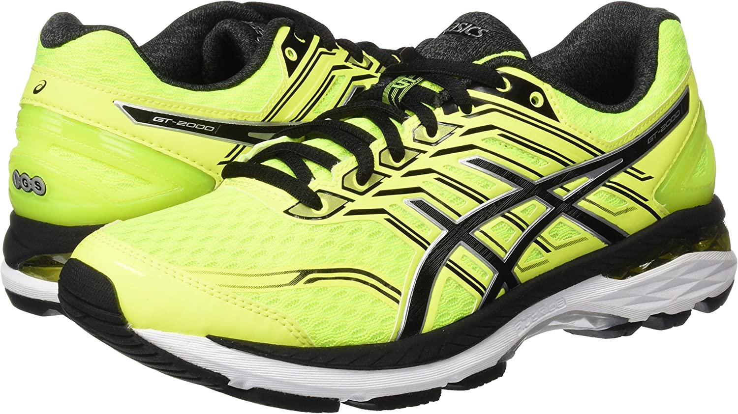 ASICS T707N0790, Zapatillas de Running para Hombre, Amarillo (Safety Yellow / Black / Silver), 39.5 EU: Amazon.es: Zapatos y complementos