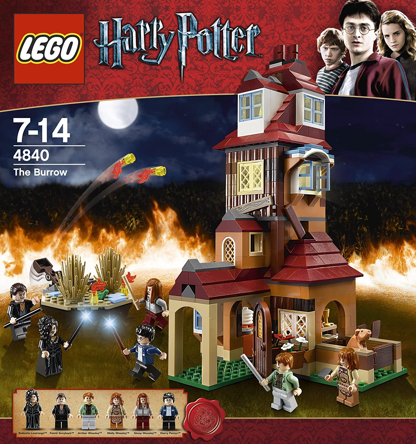 Buy lego harry potter the burrow building set online at low prices in india amazon in