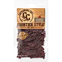 Cattleman's Cut Classic Smoked Frontier Style Beef Jerky, 6 Ounce