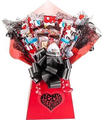 Kinder Be My Valentine Chocolate Bouquet 20 Piece Tree Explosion