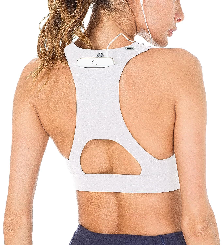 Queenie Ke apoyo medio de la mujer tiras espalda energía deporte sujetador algodón Feel JJ1605006BRA