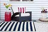 DII CAMZ38835 Reversible Indoor Woven Striped