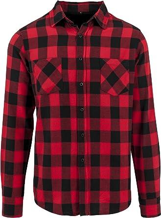 Michigan Camisa de Franela Leñador Azul//Negro a Cuadros