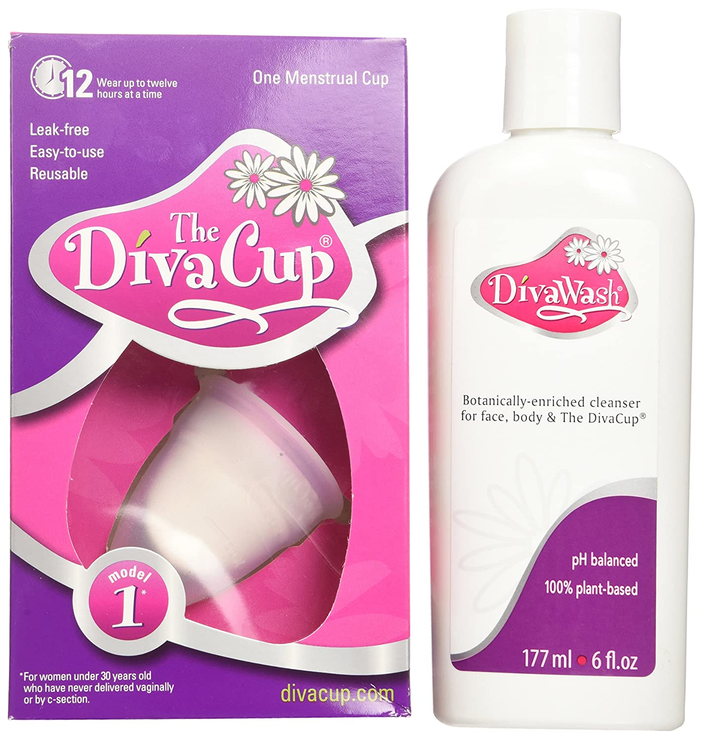 Menstrual Cup Amazoncom Diva Cup Model 1 Pre Childbirth Cups 2 Count Health