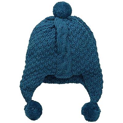 b625591614a7c 2H Hand Knits Little Unisex Child Knit Hat - Blue Sapphire