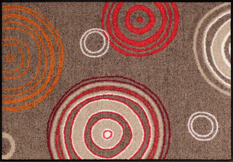 Erwin Müller Fußmatte braun rot Größe 70x190 cm