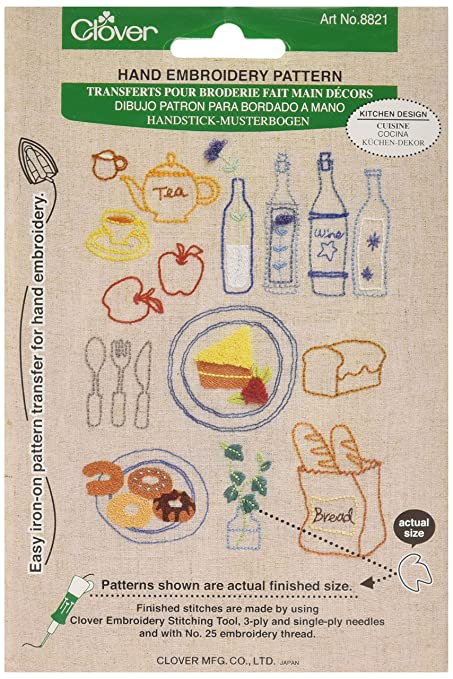 Amazon Clover Books Kitchen Design Embroidery Stitching