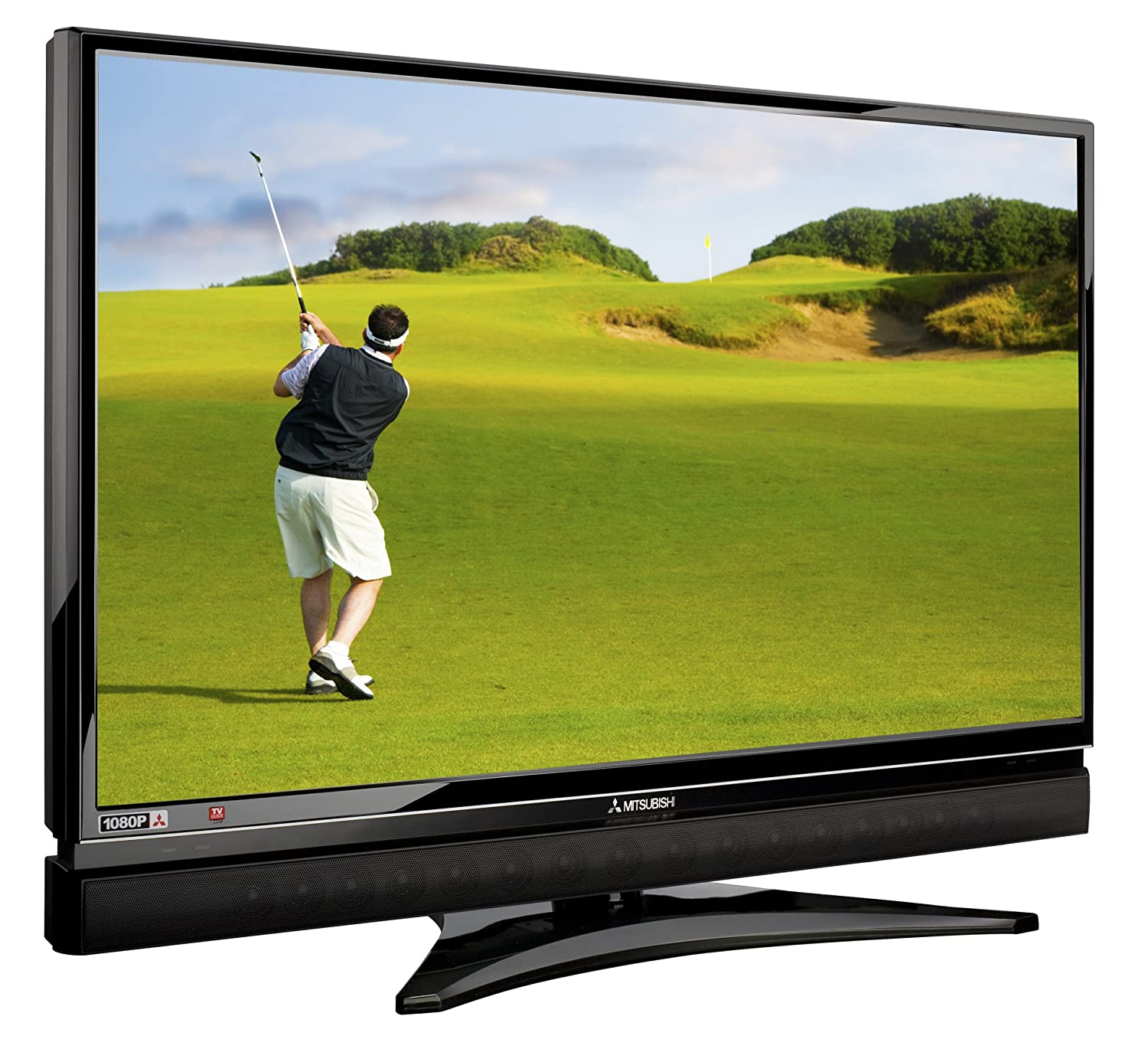 Amazon.com: Mitsubishi LT-46149 46-Inch 1080p 120Hz LCD HDTV with  Integrated Sound Projector: Electronics