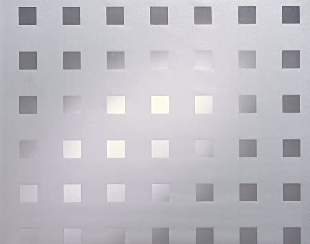 """Clear Weave Static Cling Window Film 36/"""" Wide x 1 Yd Sold as one continuous roll"""