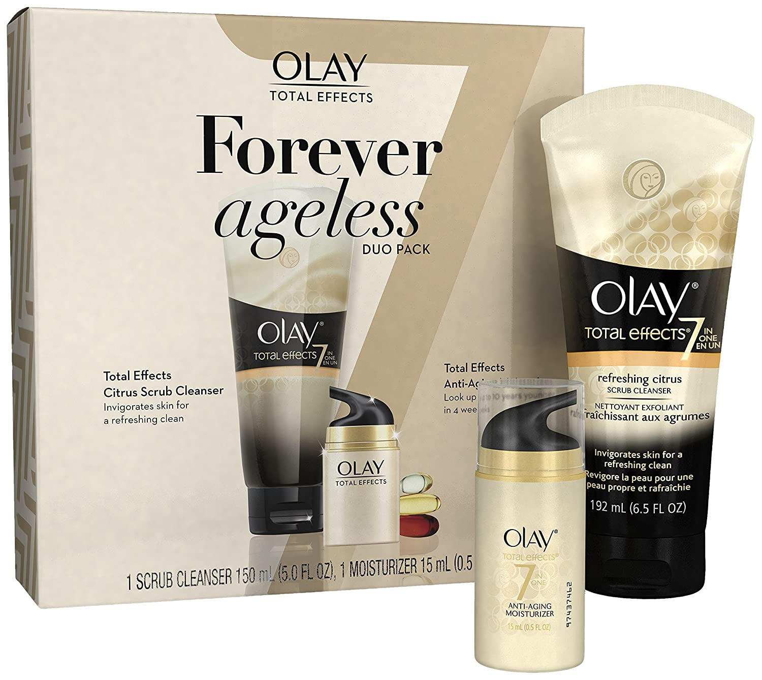 Olay Total Effects Anti-Aging Face Moisturizer, Fragrance-Free 1.7 fl oz NA