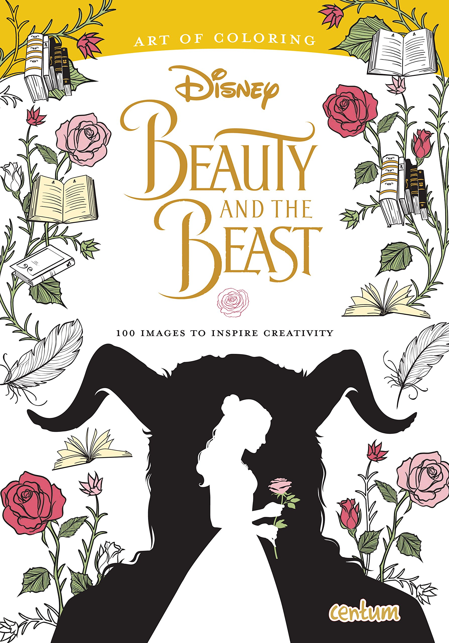 - Beauty & The Beast Deluxe Colouring Book: Amazon.co.uk: Centum