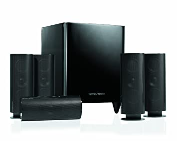 harman kardon home theatre. harman kardon hkts60 complete 5.1 home-theater speaker system (black) home theatre t
