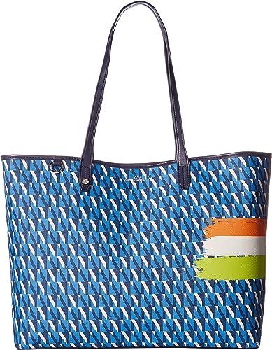 0c7e2e10dd Amazon.com  Sam Edelman Women s Isalyn Tote Poseidon Blue Multi One Size   Shoes