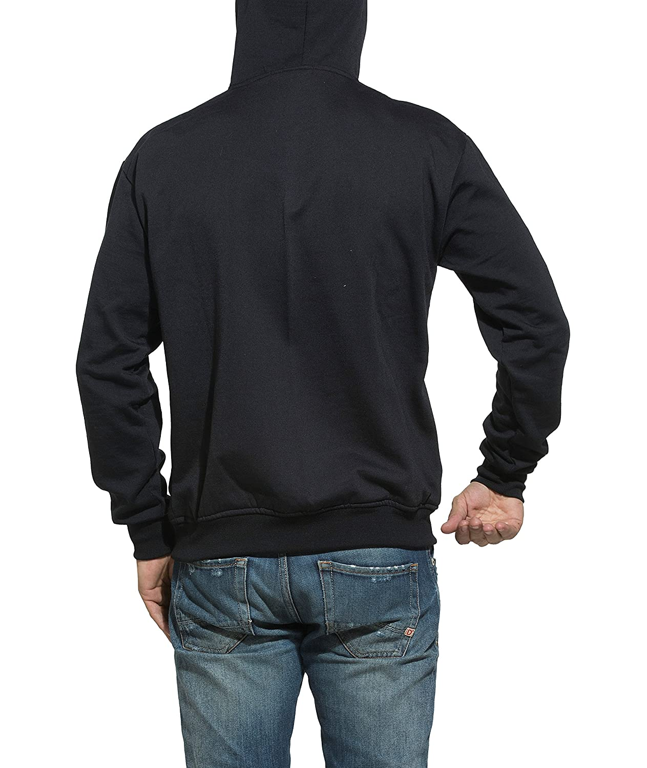 dcf854d079a Alan Jones Clothing Men s Cotton Hooded Sweatshirt  Amazon.in  Clothing    Accessories