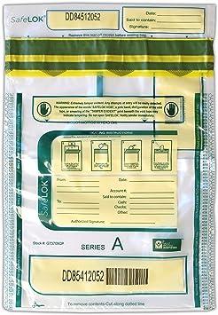 alpha-ene.co.jp 13.5 X 10 SafeLok Horizontal Twin 100 Deposit Bags ...