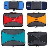 Pro Verpackung Cubes | 6Stück Travel Cube Value Set | 30% Space Saver Taschen und Gepäck oranisers | Ultra Leicht | ideal für Seesack, Carry On Gepäck, und Rucksäcke Mehrfarbig mehrfarbig
