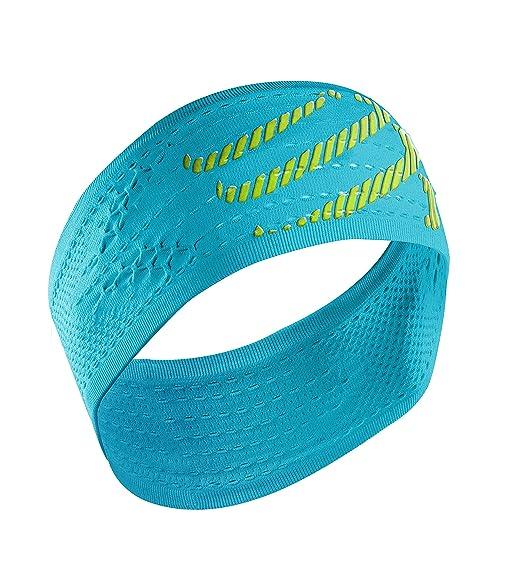 94 opinioni per Compressport Headband On/Off Bandana On/Off, Blu (Fluo Blue)