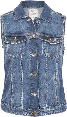 new style 933e2 f0435 Damen Jacke Jeans Weste