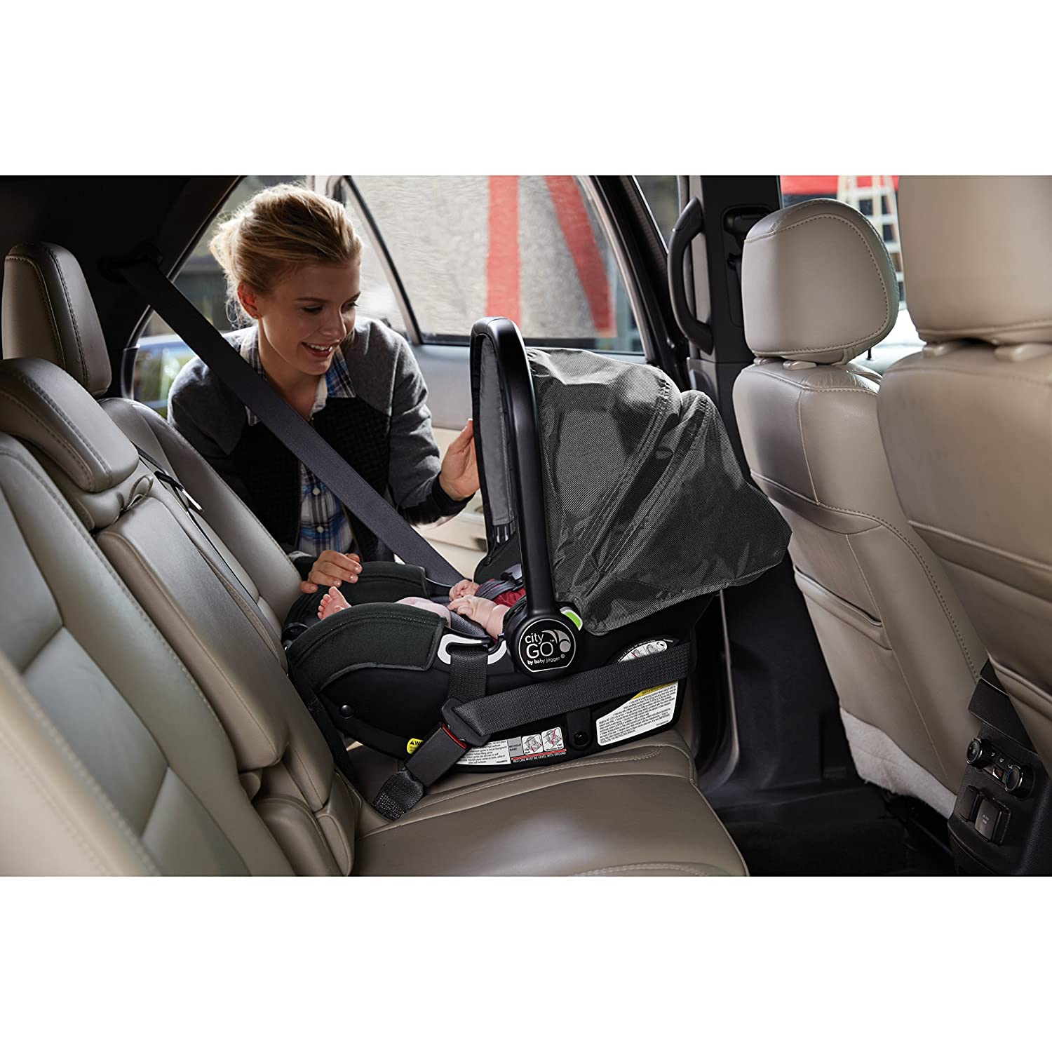 Baby Jogger City Go Infant Car Seat Charcoal 1969639