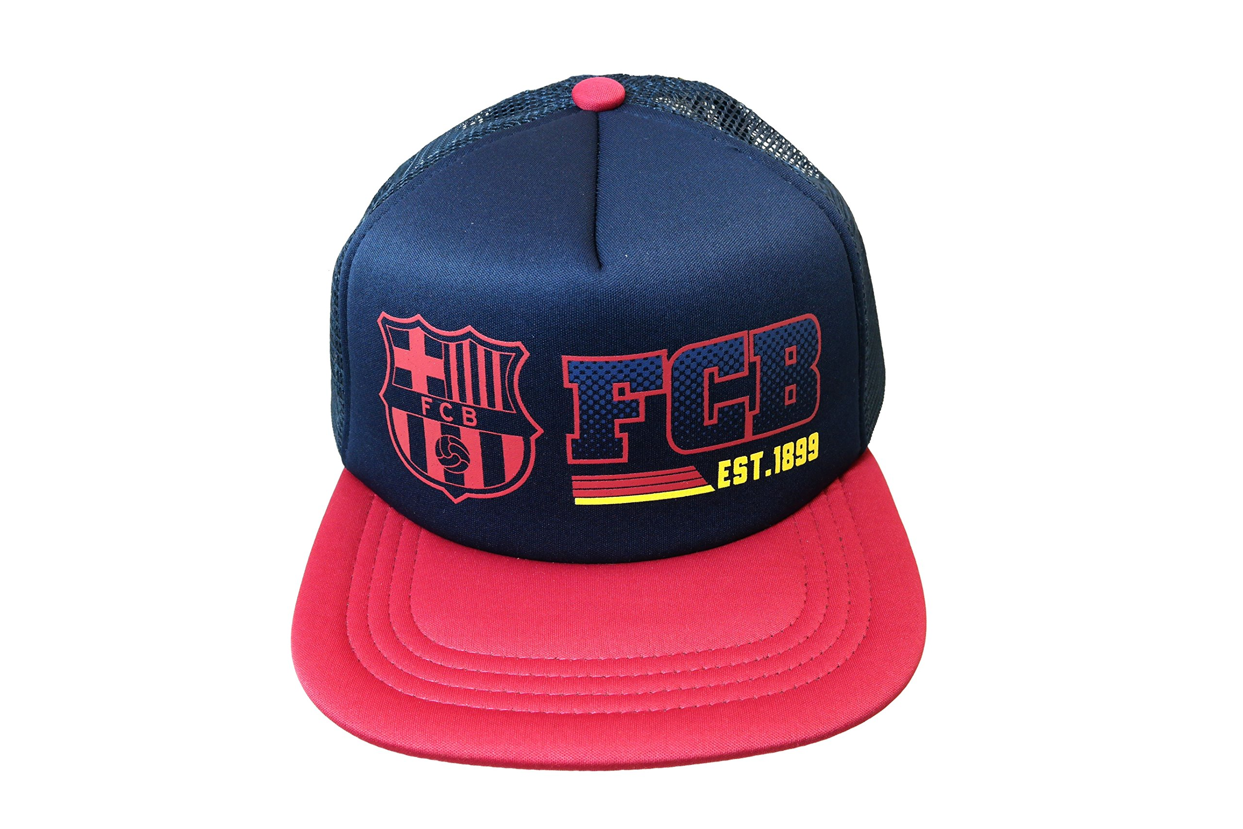 FC Barcelona Hat Cap Adjustable 2-Tone-Navy/Maroon